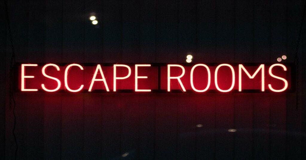 Escape room as team building activity