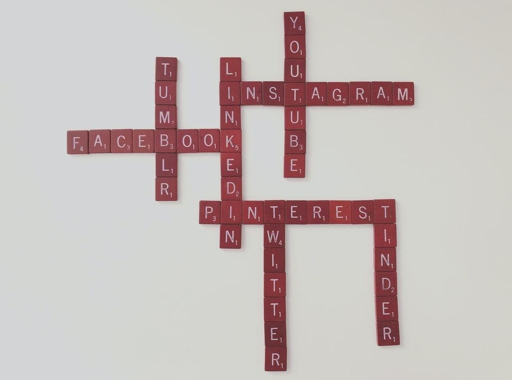 Social media names crossword puzzle