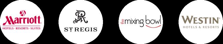 hospitality client logos